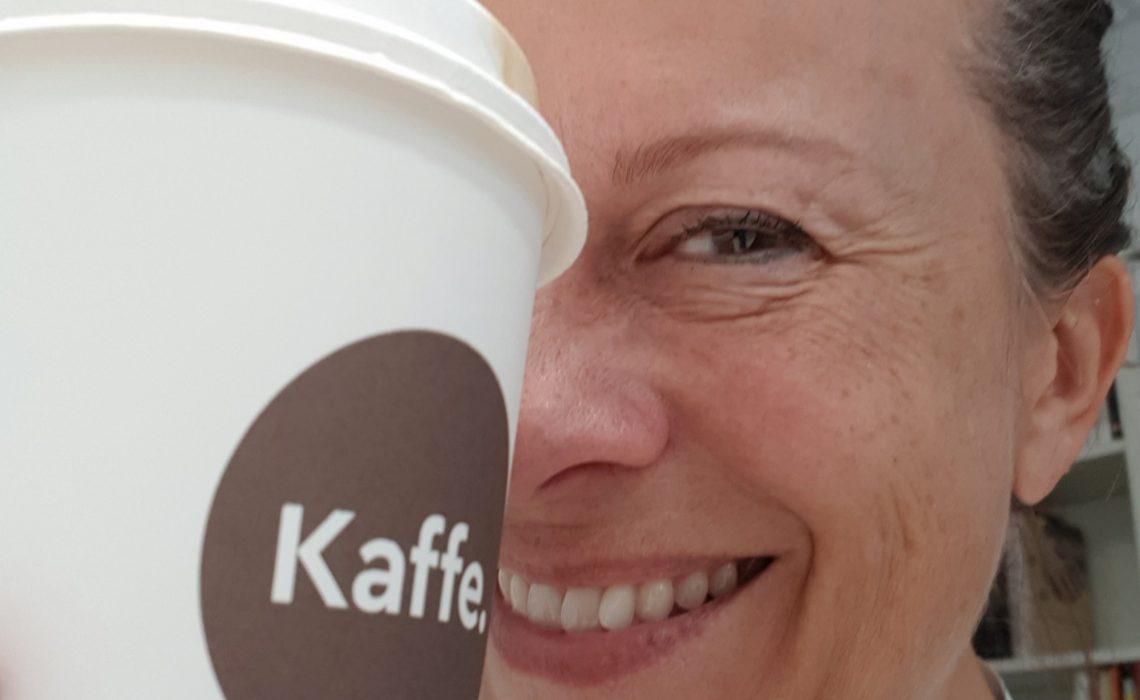 Kaffekunde på Narvesen